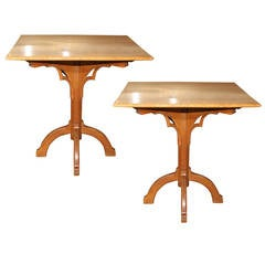 Pair of Side Tables attributed to Gillows of Lancaster