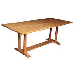 """6'-6"""" Heal's Oak Table"""