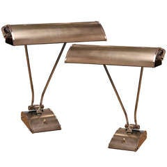 Pair of Eileen Gray Lamps