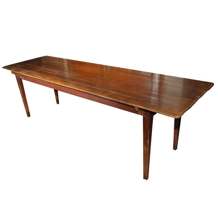 8 39 long kitchen table at 1stdibs