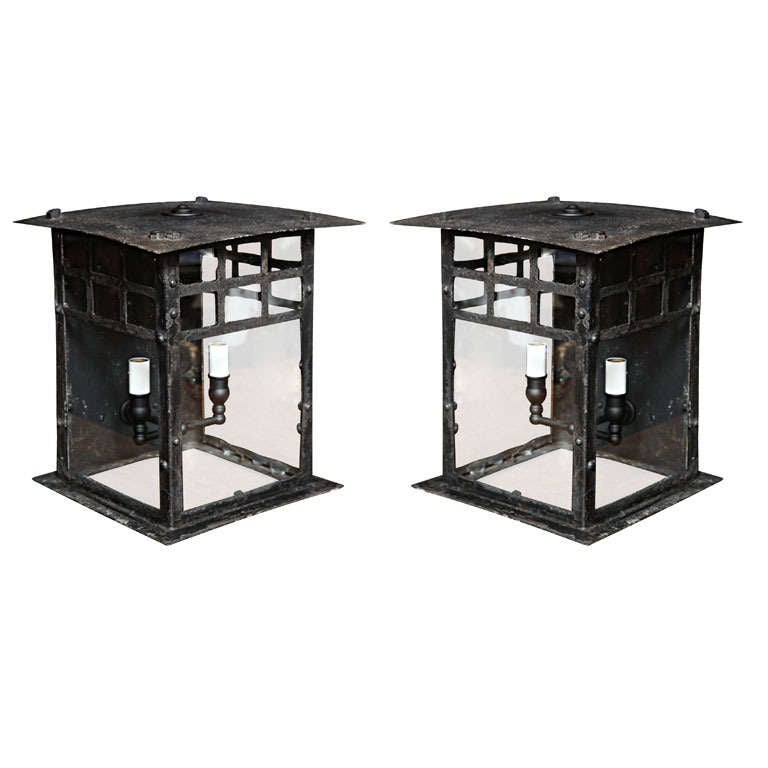 Early 19th Century Lanterns from Austria