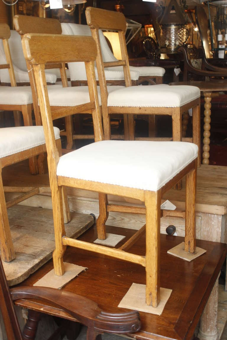Set Of 10 Scottish Dining Chairs At 1stdibs