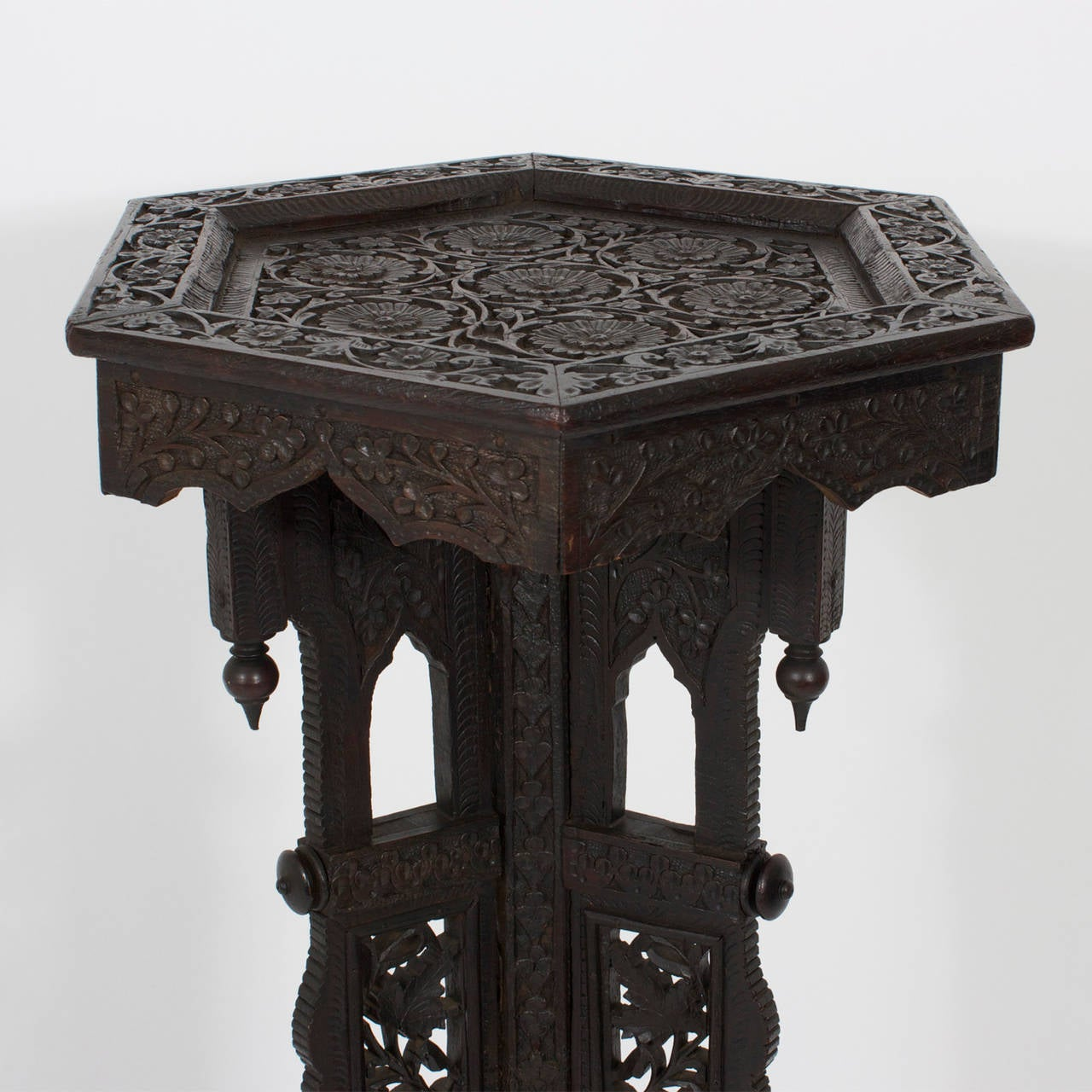 Anglo Indian Pedestal Or Plant Stand At 1stdibs