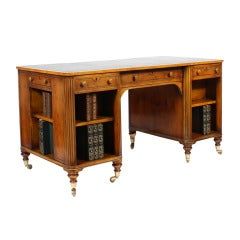 William IV Style Library Desk
