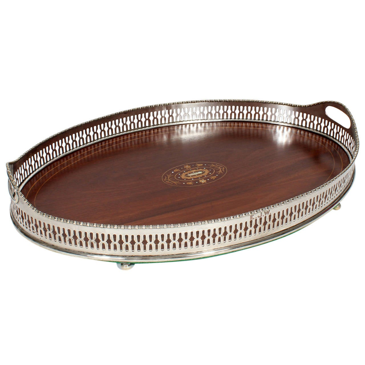Favorite Mahogany Serving Tray For Sale at 1stdibs ON63