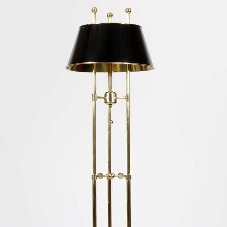 Modern Floor Lamp Brass: Modern Interpretation Of A Traditional Brass Floor Lamp