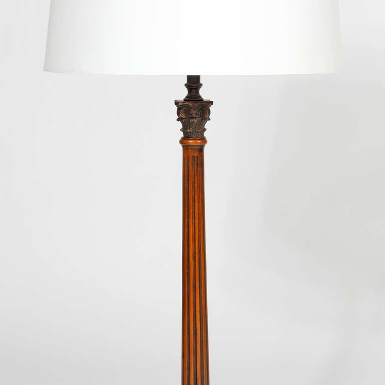 Pair of Neoclassical Lamps For Sale 1
