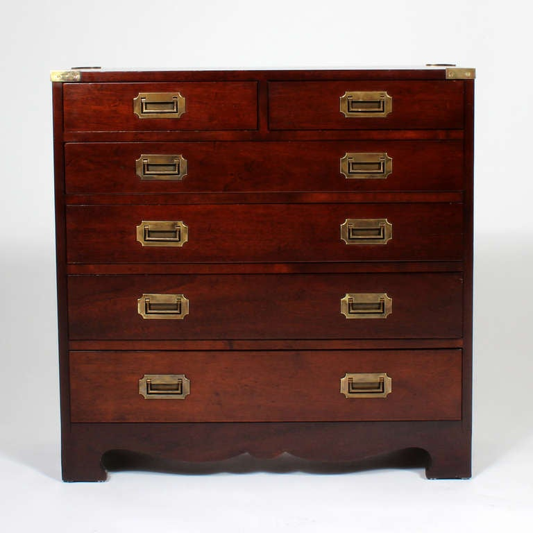 great small campaign style chest drawers antique of uk jewellery