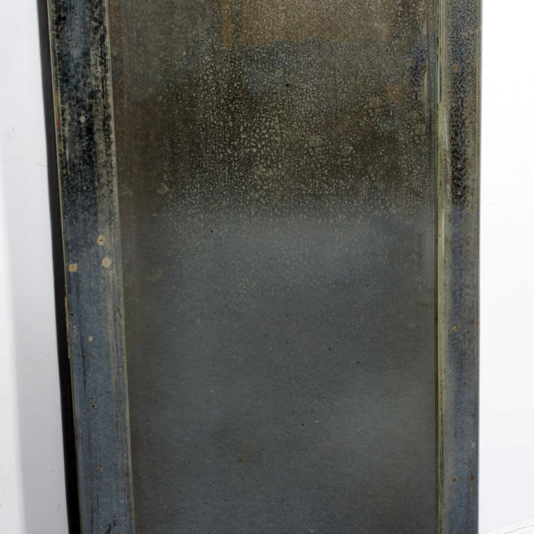 Tall and stately venetian etched glass mirror for sale at for Tall mirrors for sale