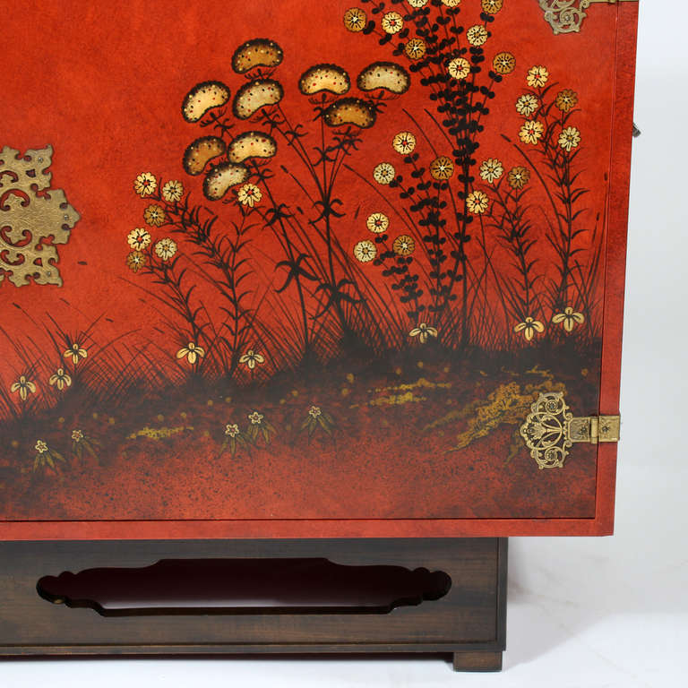 Modern Chinoiserie Decorated Sideboard By Beacon Hill At