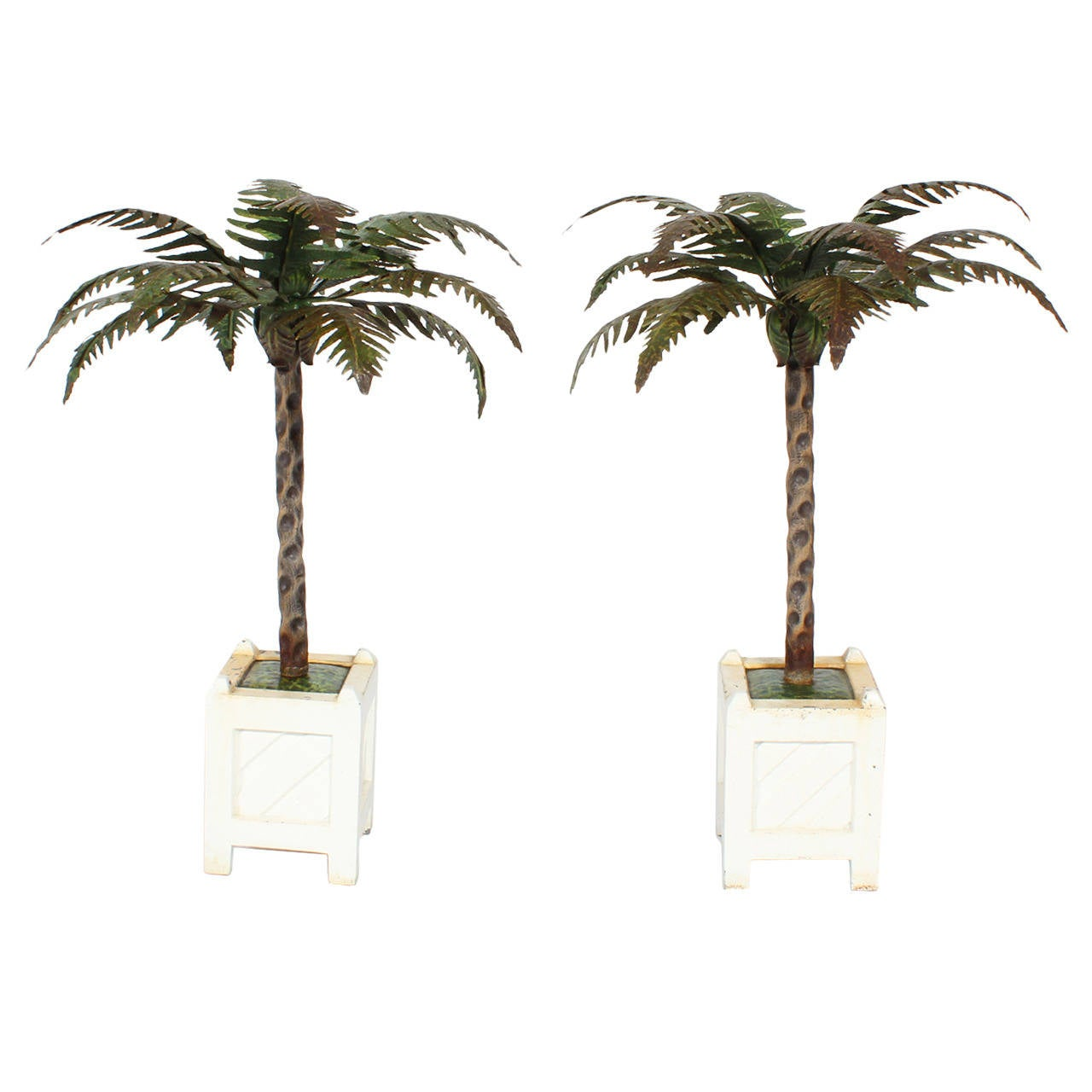 Palm tree candle holders image antique and candle victimassist bonita springs fl heaven scent flowers inc palm tree candlesticks mightylinksfo