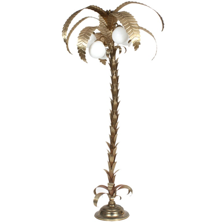 Large palm tree floor lamp for Large tree floor lamp