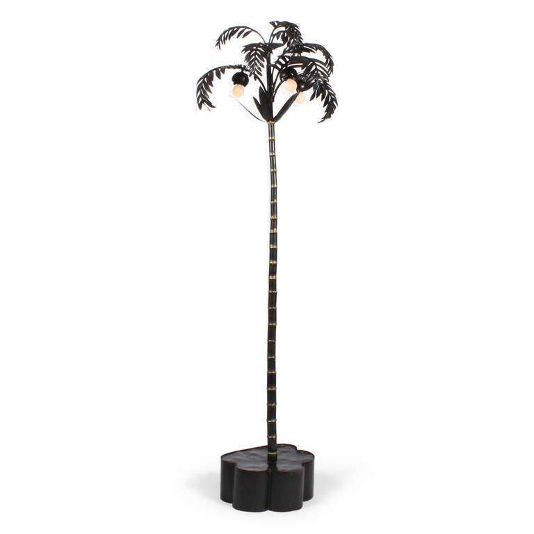 this standing palm tree iron floor lamp is no longer available. Black Bedroom Furniture Sets. Home Design Ideas