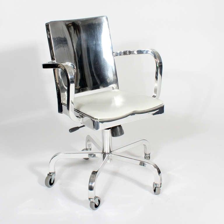 Vintage Emeco Hudson By Starck Aluminum Desk Chair At 1stdibs