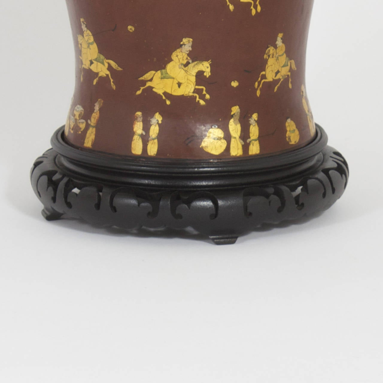 Pair Of Polo Player Table Lamps For Sale At 1stdibs