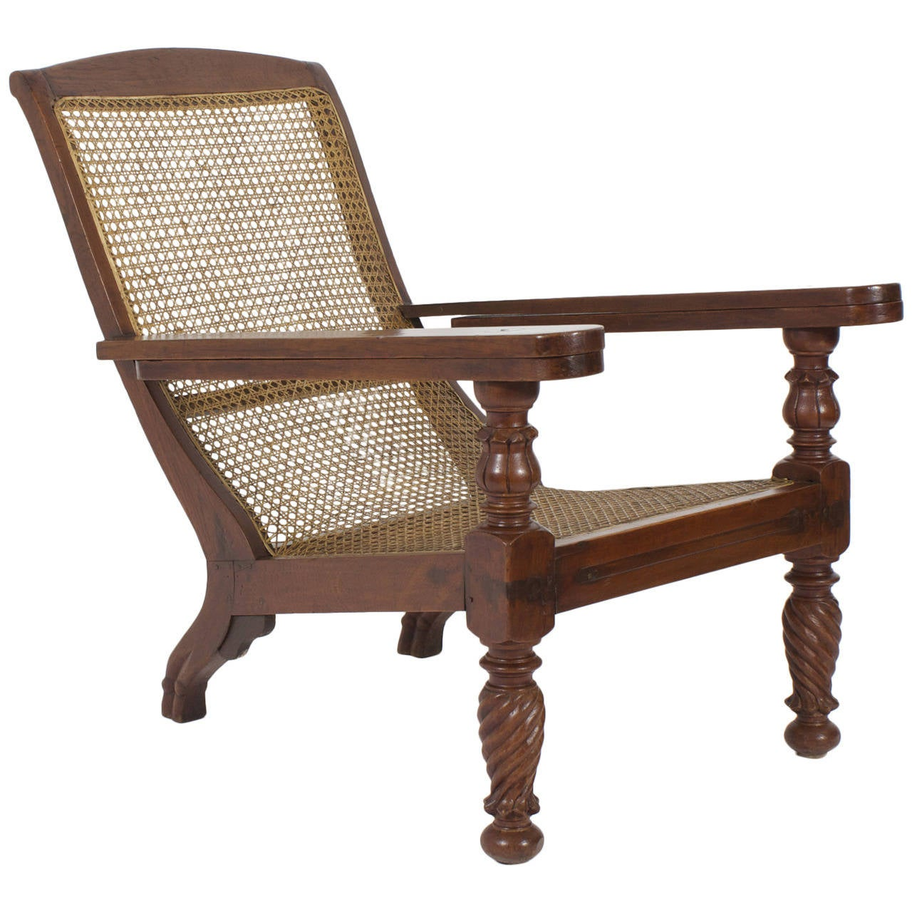 Brilliant 19Th Century Anglo Indian Mahogany Plantation Chair At 1Stdibs Pdpeps Interior Chair Design Pdpepsorg
