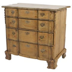 18th Century French Carved Pine Chest