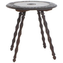 Rosewood Anglo Indian Table