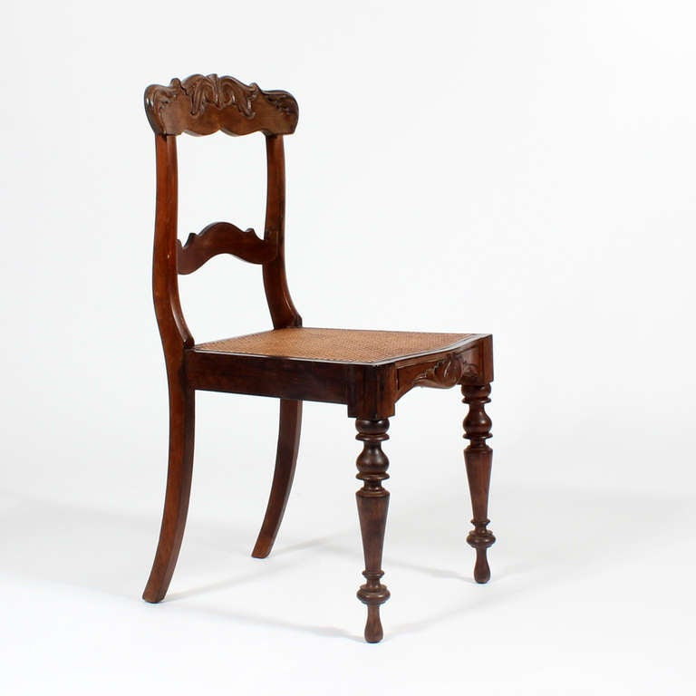 of 19th century eight anglo indian dining chairs for sale at 1stdibs