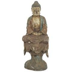 Carved Buddha Sculpture