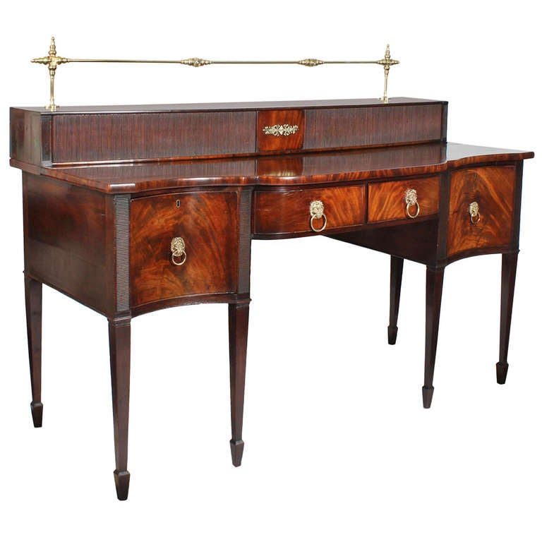 Late 18th or Early 19th Century Hepplewhite or Georgian Sideboard