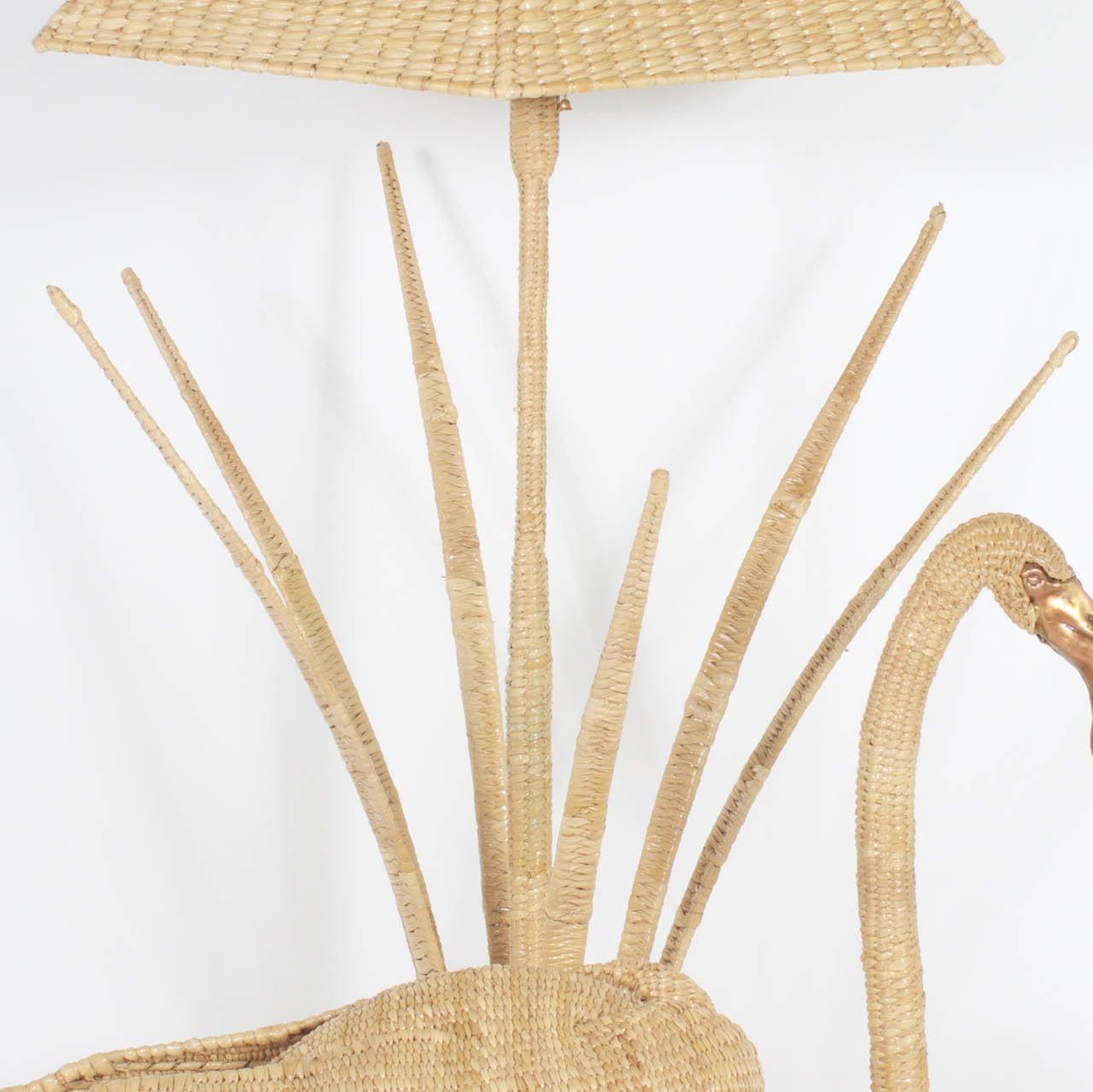 Mexican Mario Torres Flamingo Floor Lamp For Sale