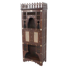 19th Century Syrian Cupboard in the Moorish Manner