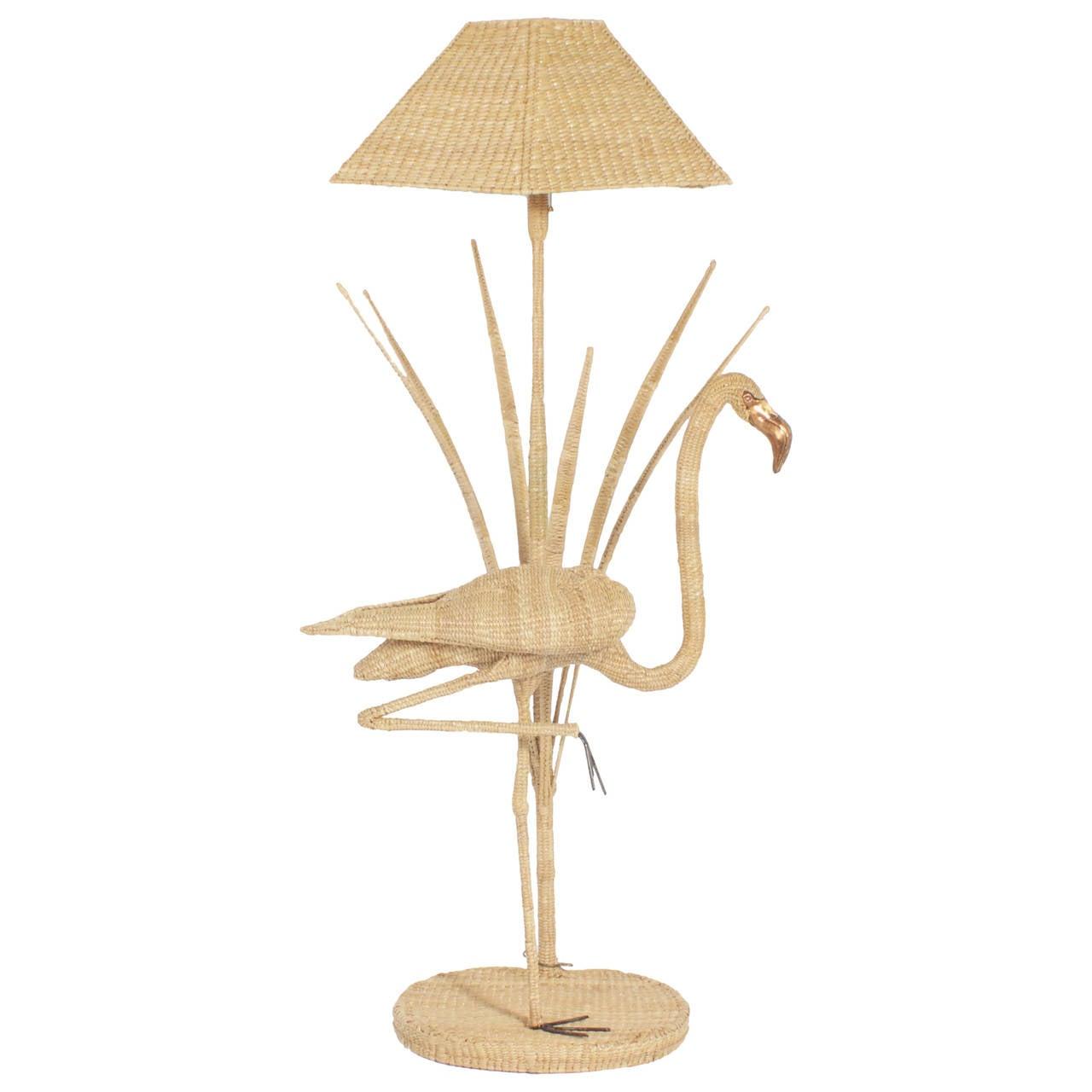 Mario Torres Flamingo Floor Lamp