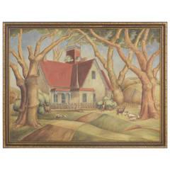 Hardesty House Painting