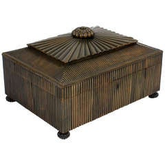 Anglo Indian Bone Sewing Box