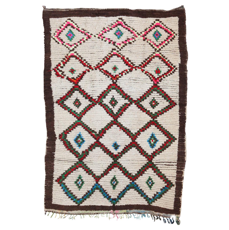 Vintage Moroccan Azilal Berber Rug At 1stdibs