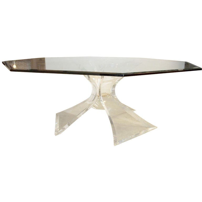 Dining Table Lucite Dining Table
