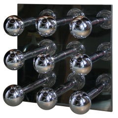 Pierre Cardin Chrome Light Panel