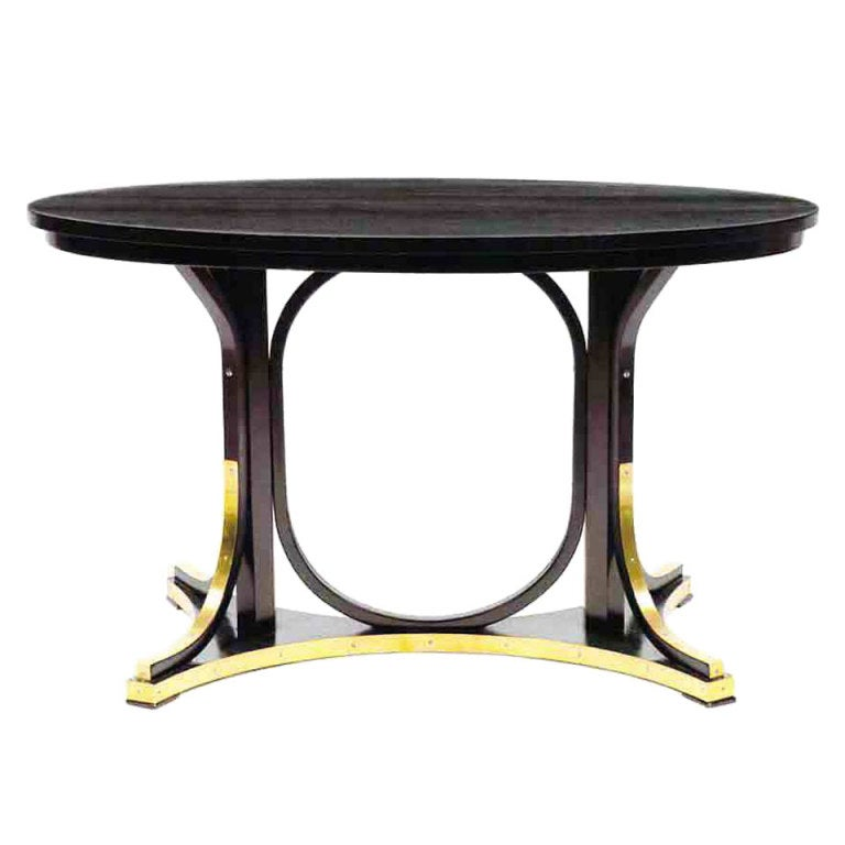 Oval Table By Otto Wagner At 1stdibs
