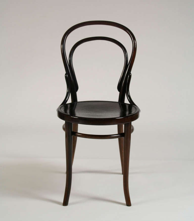 Bentwood Chair Model No 14 By Thonet At 1stdibs