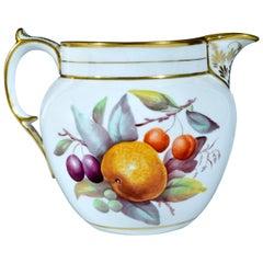 Davenport Porcelain Fruit Decorated Jug