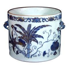 A Fine Chinese Export Porcelain Cache Pot.