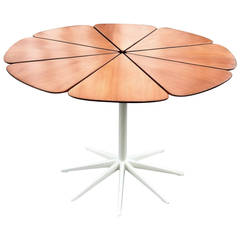 Richard Schultz for Knoll Mid-Century Teak Petal Dining Table