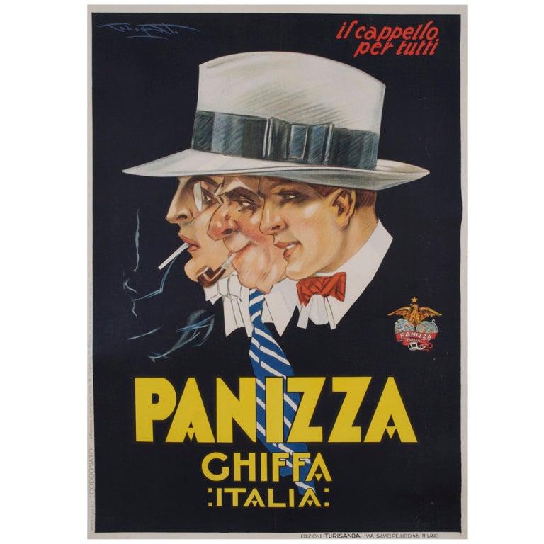 Original italian art deco period poster by codognato 39 for Art deco era dates