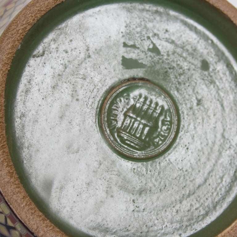 Hungarian Eosin Glazed Vase by Zsolnay, Late 19th Century 3