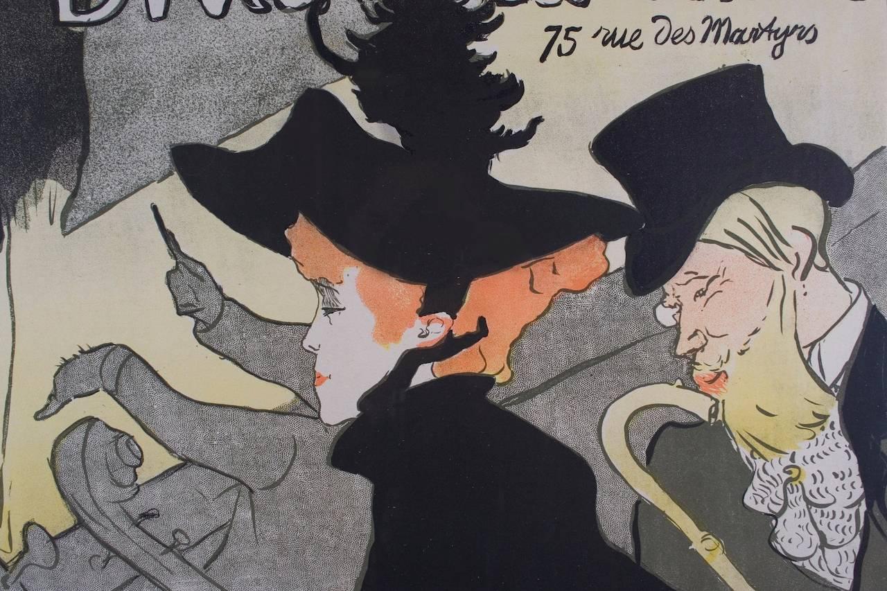 Divan japonais a french belle epoque period poster by for Divan japonais