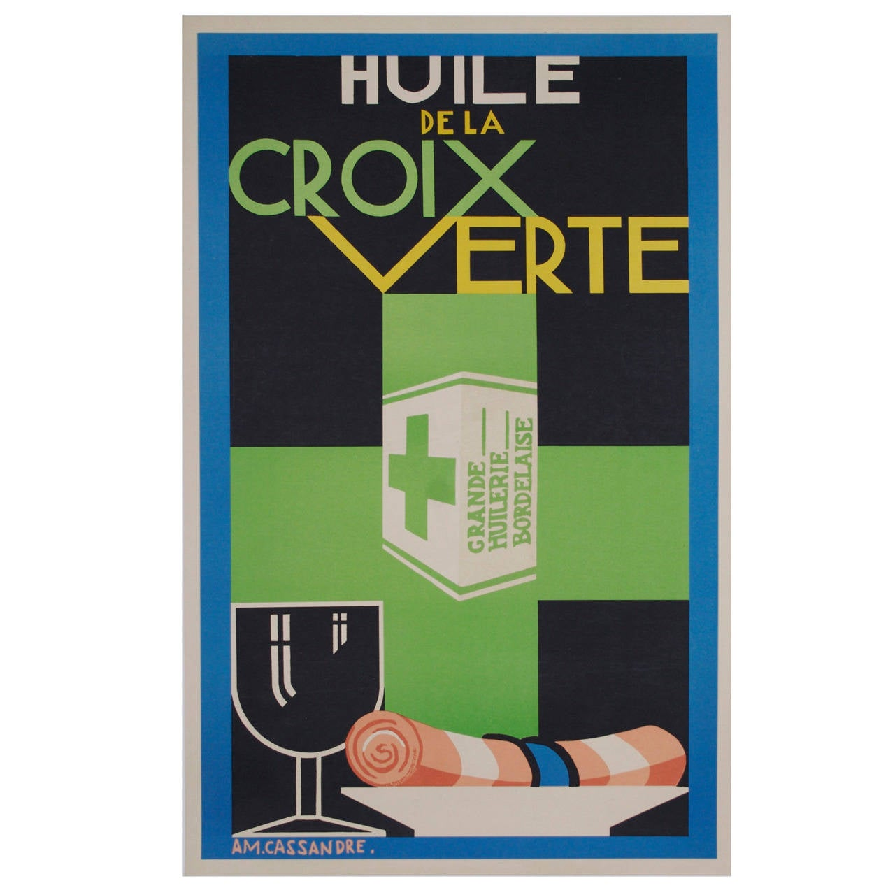 French art deco period poster by a m cassandre 1925 at for Art deco era dates