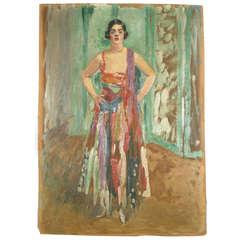 Original Oil on Board Painting by Leonetto Cappiello, 1930