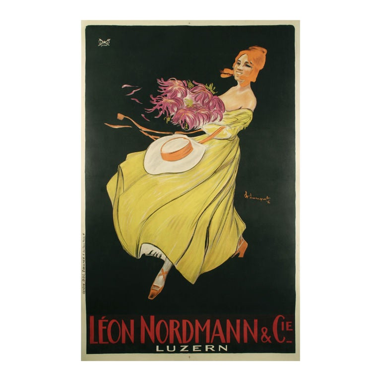 original deco antique poster by swiss master charles loupot at 1stdibs