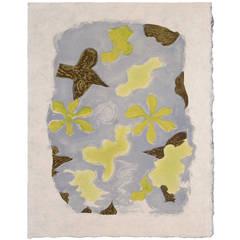 """""""La Sorgue,"""" Color Lithograph by Georges Braque, 1963"""