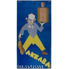 Austrian Art Deco Period Poster by Victor Slama, circa 1928