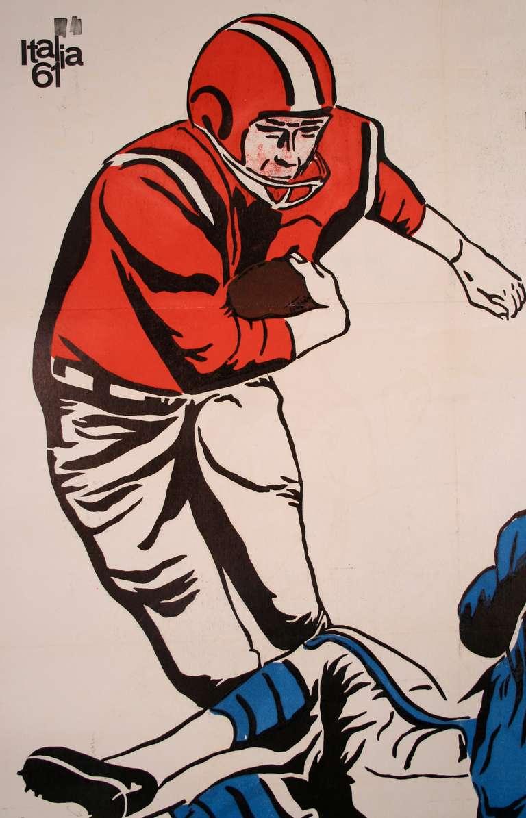 Vintage Football Poster 37