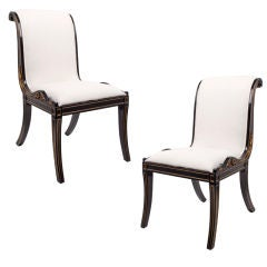 A Pair Of Second Empire Fauteuil Gondole France At 1stdibs