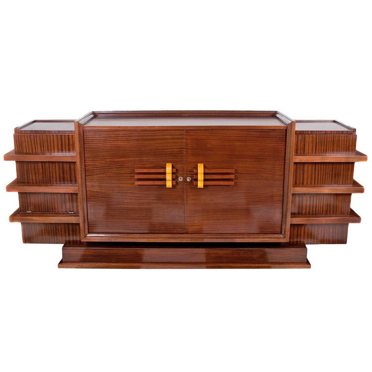 French art deco period rosewood buffet at 1stdibs for Art deco furniture chicago