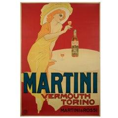Italian Liberty Period Vermouth Poster by Marcello Dudovich, circa 1910